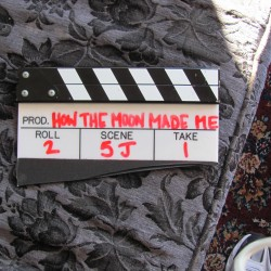 every shoot must have a clapper board